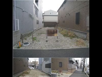 中京区西ノ京両町 建築条件無し 売土地