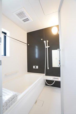 浴室乾燥機付きで雨の日でもカラッとお洗濯物を乾かせます!