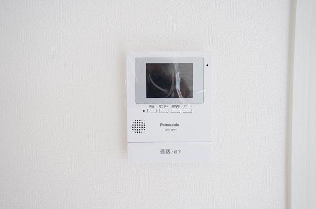 来客の際あると便利なTVモニター付きインターフォン!