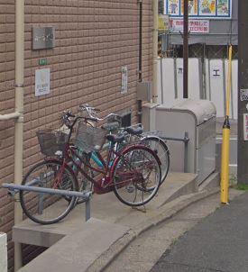 専用の駐輪場があります