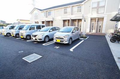 【駐車場】フォレストコート Ⅱ