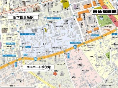 【区画図】エスコートゆう館