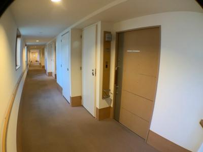 廊下も広々♪