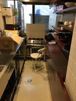 【キッチン】上京区十四軒町 中古戸建