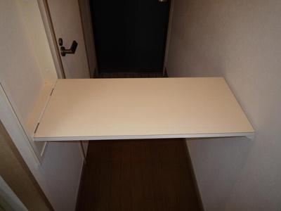 収納式キッチンカウンター