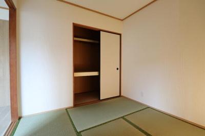 ★和室が寝室になります。