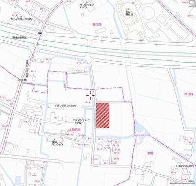 【地図】川内町上別宮東 土地(No.33)