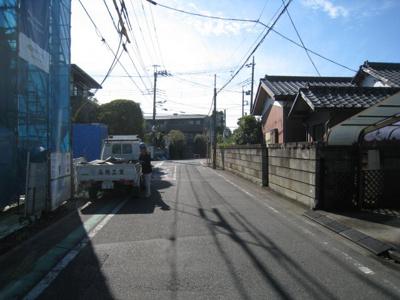 【前面道路含む現地写真】さいたま市大宮区寿能町第2期