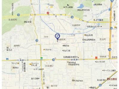 【地図】フレンデュオ南斎院