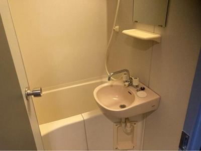お風呂と洗面の写真です