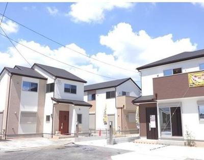 【外観】八尾市堤町3丁目新築一戸建