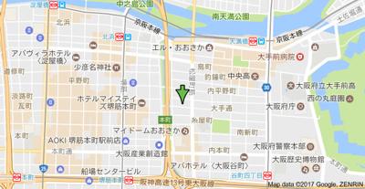 【地図】CityLifeエイペックス大手通