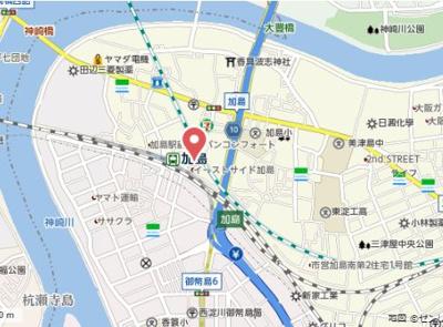 【地図】グランシャリオ