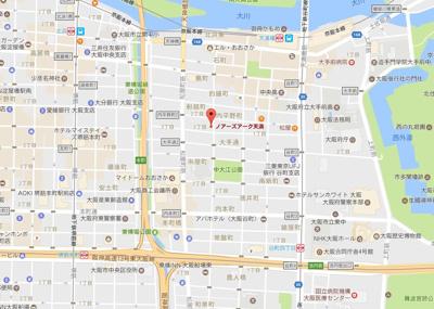 【地図】ノアーズアーク天満