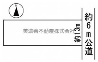 【区画図】56019 岐阜市江添土地