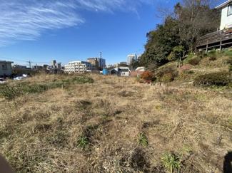 千葉市中央区亥鼻 土地 本千葉駅 開放感のある広い敷地です。