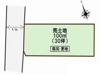 【区画図】西区玉津町出合 売土地