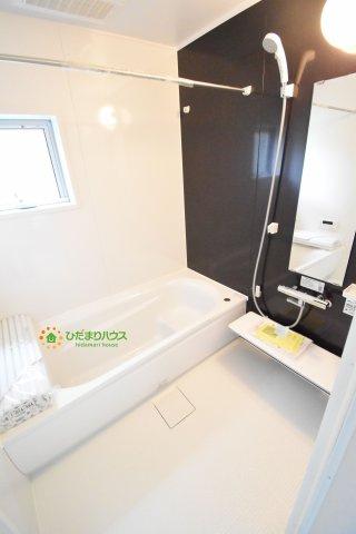 【浴室】上尾市柏座2丁目 新築一戸建て リーブルガーデン