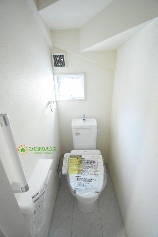 【トイレ】上尾市柏座2丁目 新築一戸建て リーブルガーデン