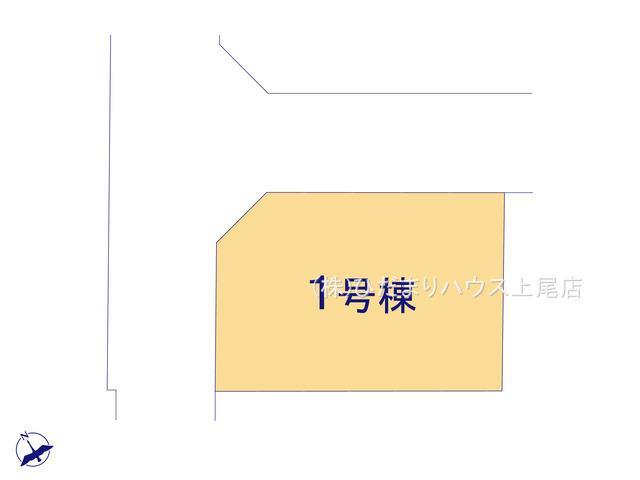 【区画図】上尾市柏座2丁目 新築一戸建て リーブルガーデン