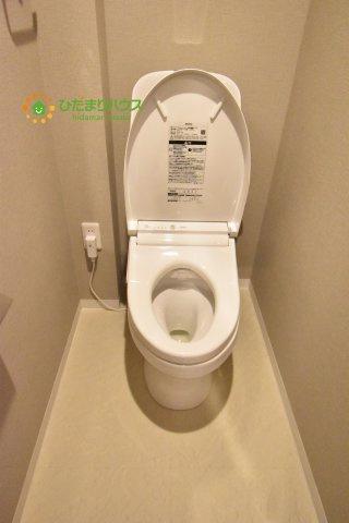 【トイレ】上尾市緑丘2丁目 中古マンション ゼファー上尾緑丘