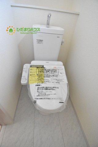 【トイレ】行田市行田 新築一戸建て リーブルガーデン