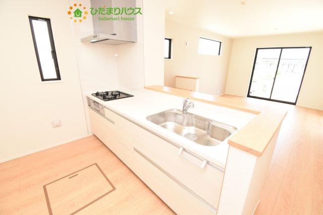 【キッチン】鴻巣市加美 20-1期 新築一戸建て リナージュ 02