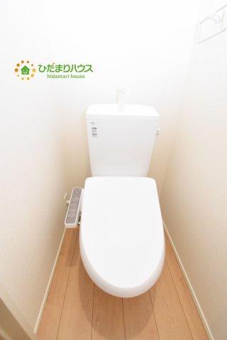 【トイレ】鴻巣市加美 20-1期 新築一戸建て リナージュ 02