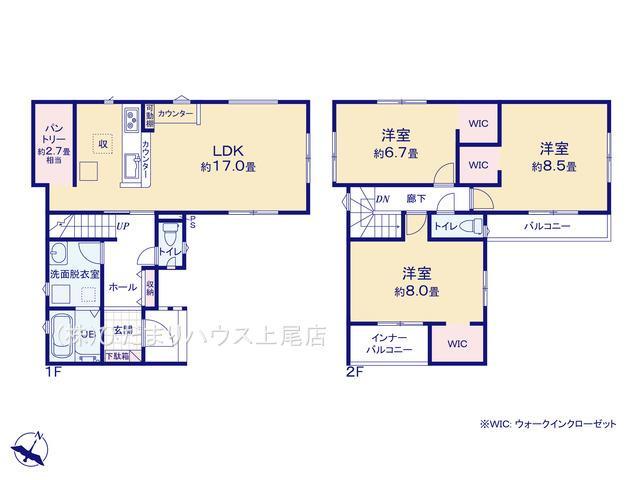 鴻巣市加美 20-1期 新築一戸建て リナージュ 02