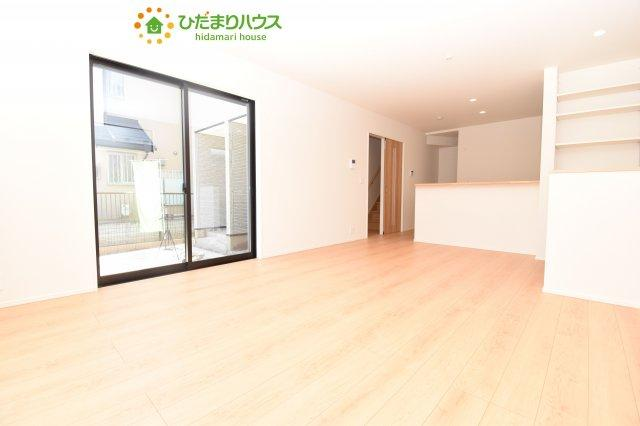 【居間・リビング】鴻巣市加美 20-1期 新築一戸建て リナージュ 02