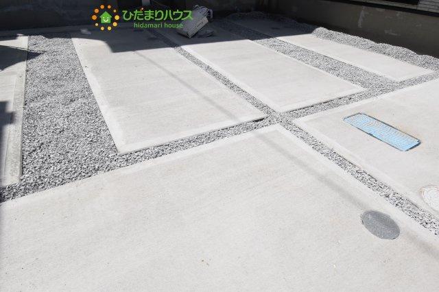 【駐車場】鴻巣市加美 20-1期 新築一戸建て リナージュ 02