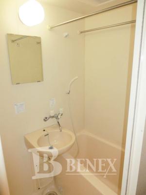 エクセリア早稲田Ⅱの洗面所です
