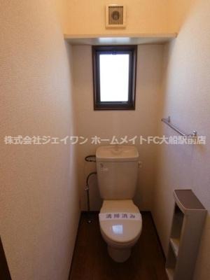 【トイレ】ウッドパレス