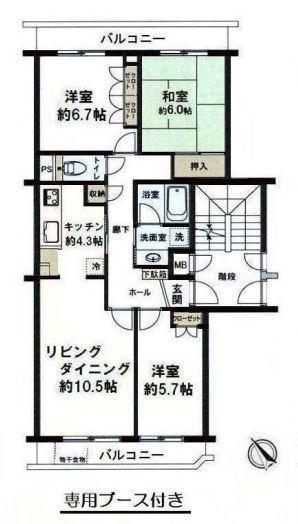 ニューシティ東戸塚緑の街3号棟