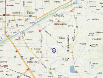 【地図】フレグランス大内・
