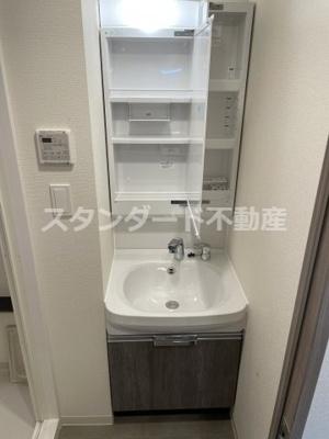 【独立洗面台】BPRレジデンス天満橋