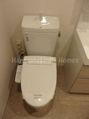 ヒューリック板橋のトイレ