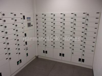 ヒューリック板橋の郵便ボックス(宅配ボックス付き)