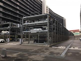 機械式駐車場・平面置きもあり