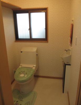 【トイレ】世羅郡世羅町下津田  庭園付き平屋
