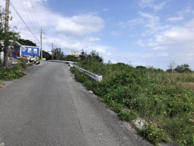 瀬底島 オーシャンビュー土地