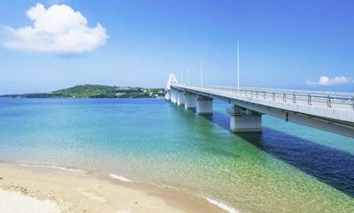 【外観】瀬底島 オーシャンビュー土地