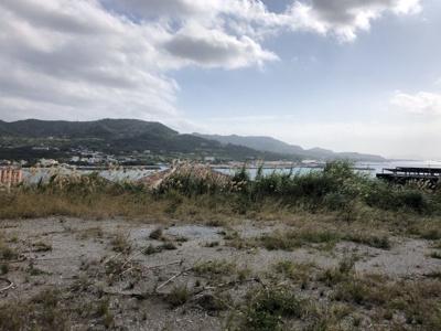 【展望】瀬底島 オーシャンビュー土地