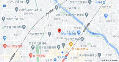 【地図】宮元町貸家