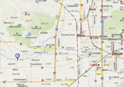 【地図】セントロイエル南斎院