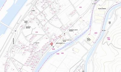 【地図】岡山市北区中原 売地