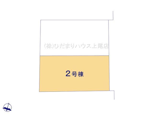 【区画図】見沼区大和田町 新築一戸建て 02