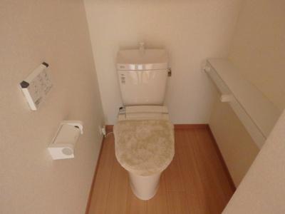 鶴形1丁目 鶴形ビル 1LDK トイレ