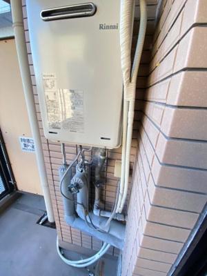 朝日プラザ堺東 給湯器・洗濯機コンセント・水道の蛇口