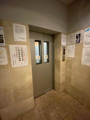 朝日プラザ堺東 エレベーターカメラ付き